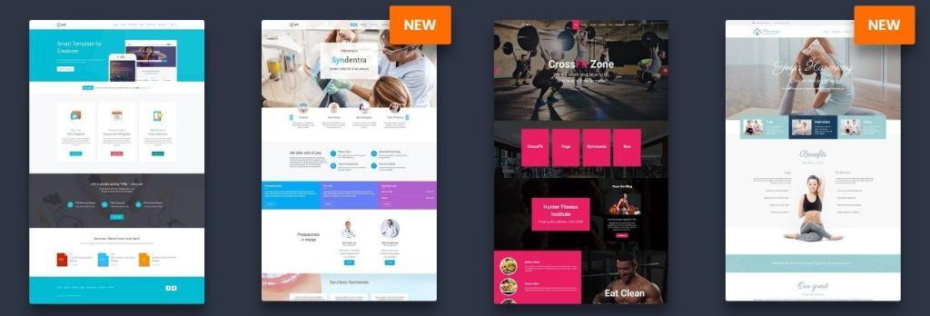 дизайн сайта на WordPress: премиум шаблоны и курсы для разработки 01
