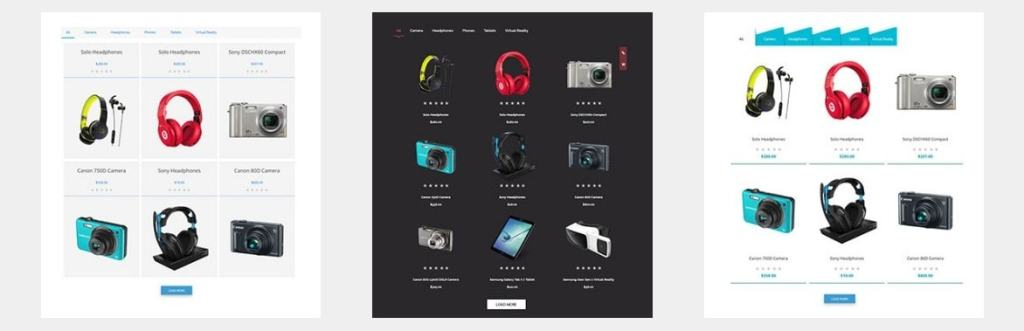 WooCommerce товар списком: красивое оформление ассортимента 1
