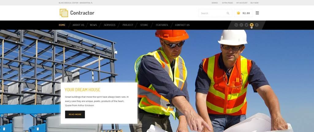 макет строительного сайта для серьезного бизнеса 11