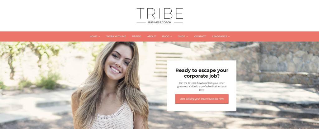 готовые дизайны сайтов для бизнеса, блога и eCommerce 07