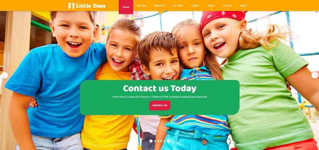 детские темы WordPress для школ, детских садов, центров и магазинов 04
