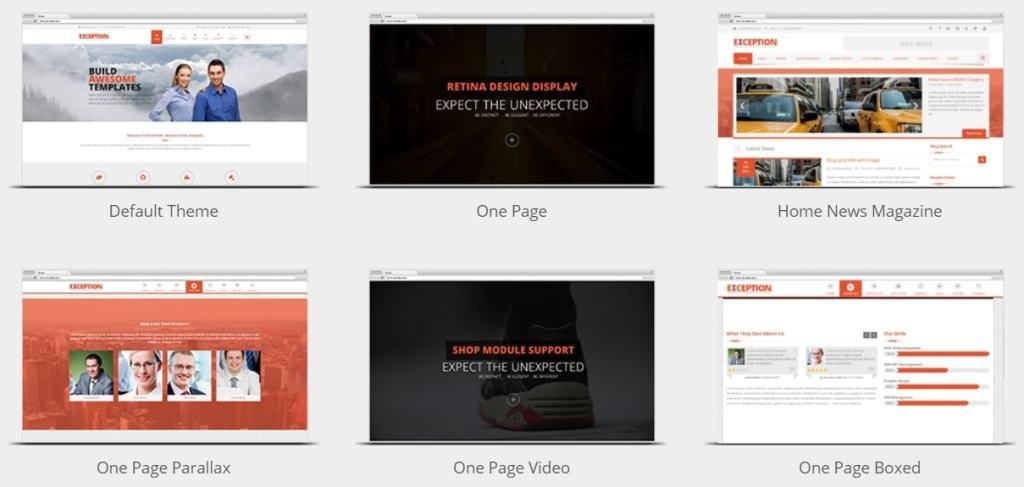 корпоративные шаблоны HTML: Веб-решение под любую платформу 11