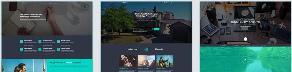 cовременная верстка сайта со стильным дизайном премиум класса 03