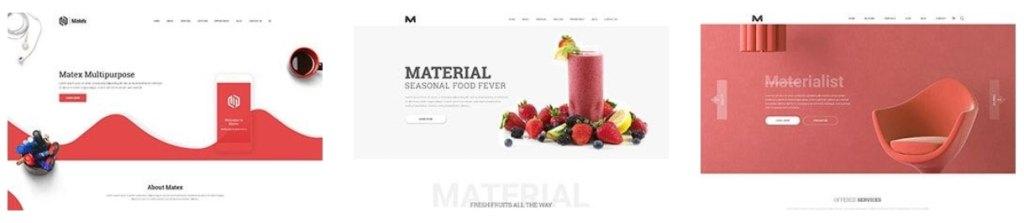 cовременная верстка сайта со стильным дизайном премиум класса 04