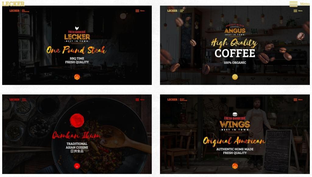 HTML шаблоны ресторан с онлайн-бронированием столиков 02