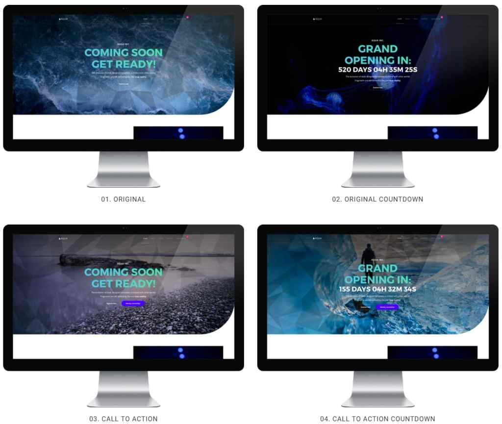 макеты сайтов HTML с возможностью разработки под любую платформу 11