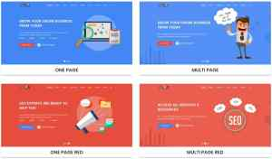 макеты сайтов HTML с возможностью разработки под любую платформу 21