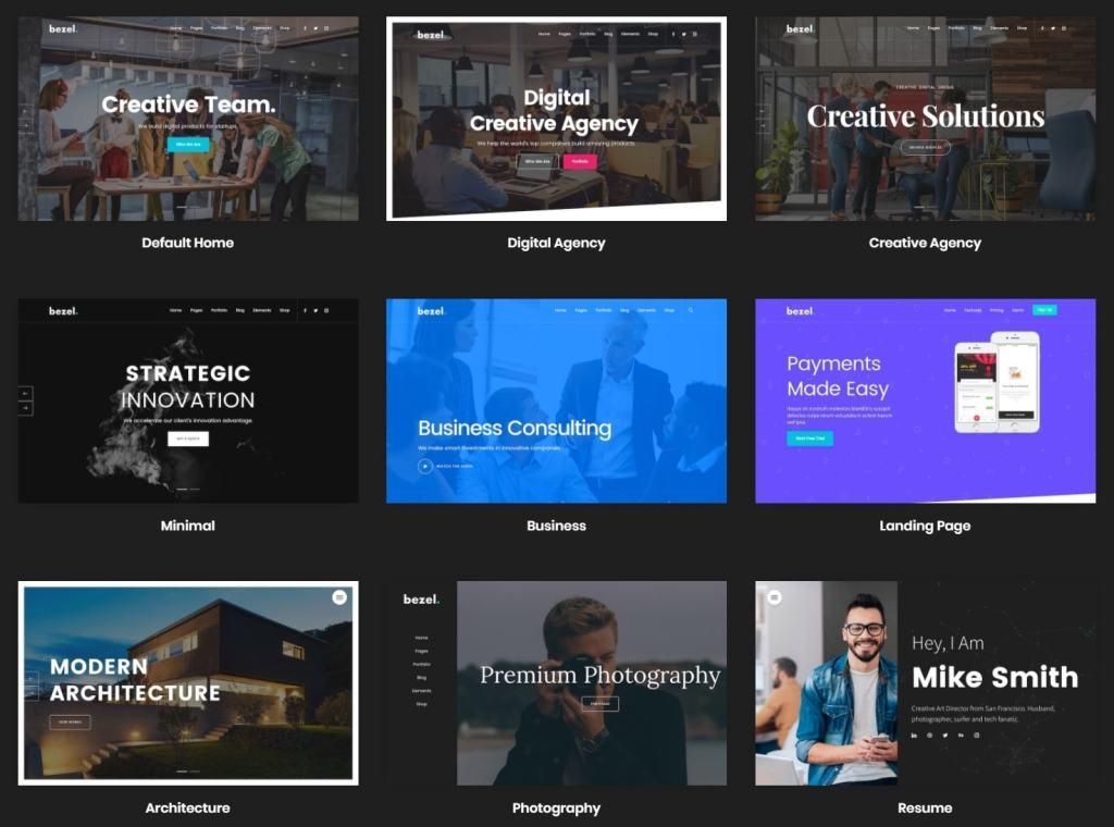 Топ 100 адаптивные HTML шаблоны для бизнеса, портфолио, блога и магазина 03