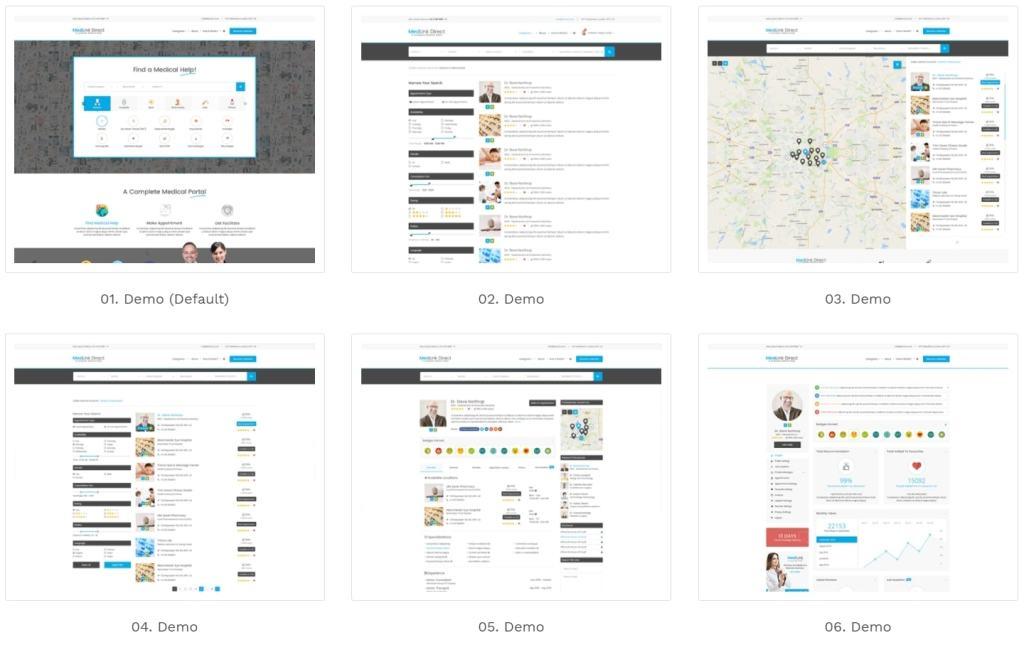 Топ 100 адаптивные HTML шаблоны для бизнеса, портфолио, блога и магазина 36