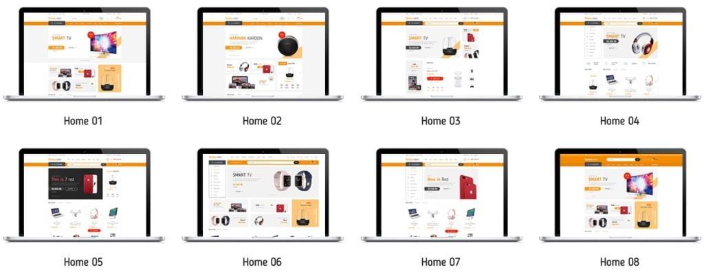 Топ 100 адаптивные HTML шаблоны для бизнеса, портфолио, блога и магазина 94