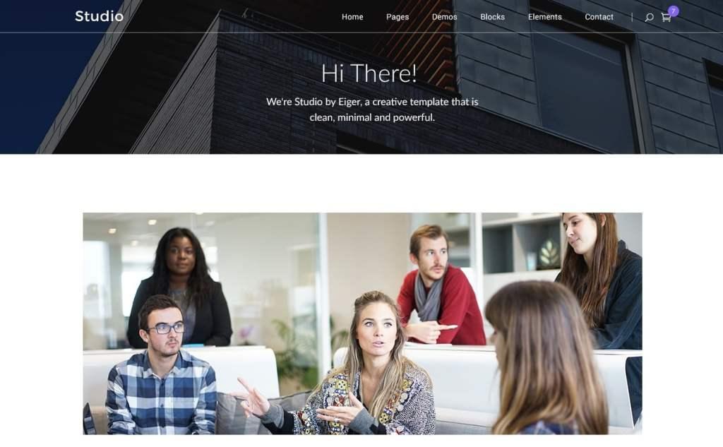 PSD макеты сайтов – 50 дизайнерских концепций для вашего бизнеса 30