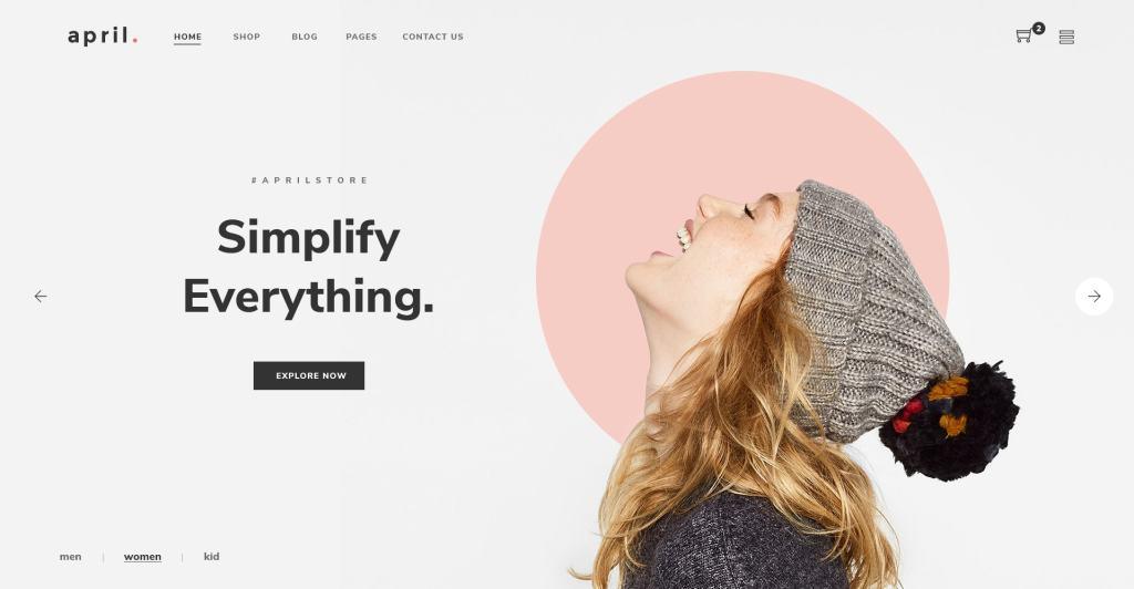 PSD макеты сайтов – 50 дизайнерских концепций для вашего бизнеса 41