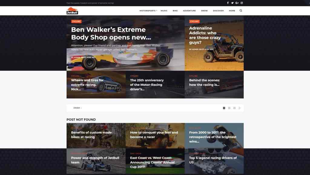 Лучшие авто шаблоны WordPress для купли и продажи, автомойки и автосервиса 01