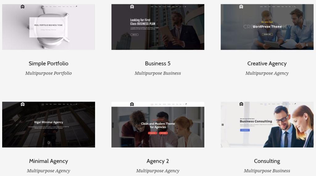 лучшие шаблоны WordPress для портфолио с образцами и красивыми галереями 24