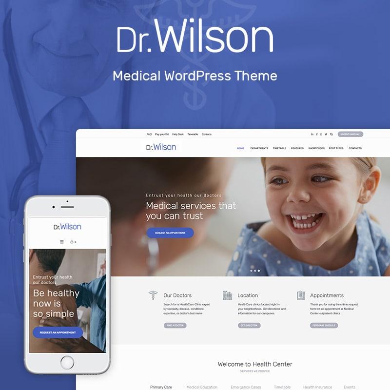 шаблоны медицинских сайтов