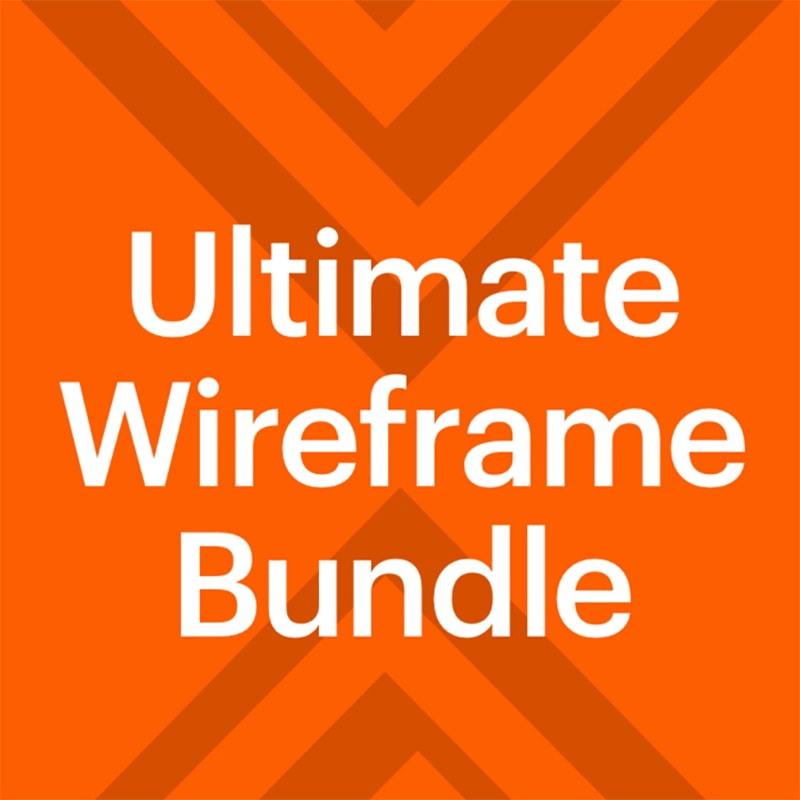 UI элементы Basement Wireframe Bundle