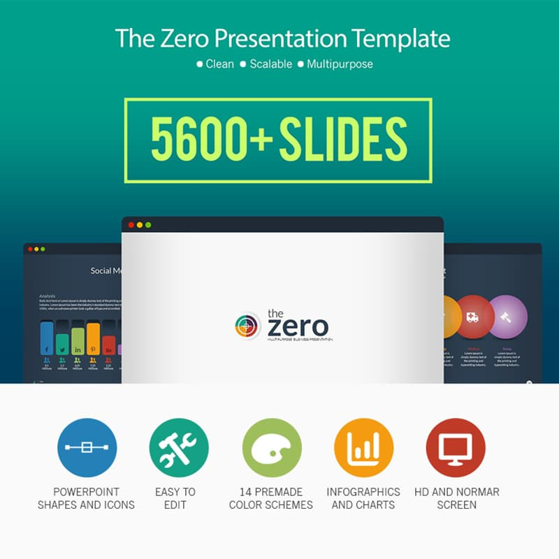 PowerPoint шаблон Business Infographic PowerPoint Presentation Template