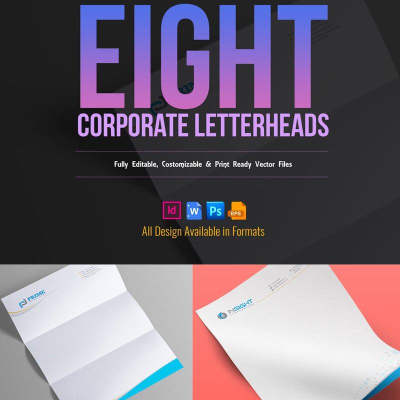 Фирменный стиль Corporate Letterhead Pack