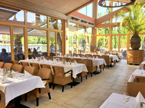 Restaurant El Puerto im Hafen Potsdam