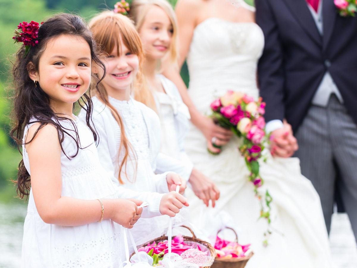 Kinderanimation für Hochzeit