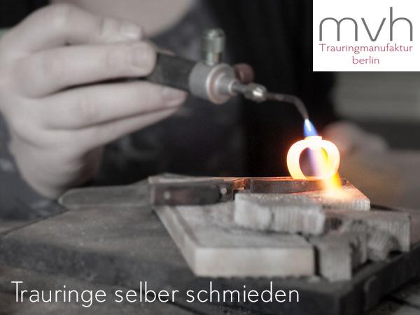 mvh Berlin: Trauringe selber schmieden