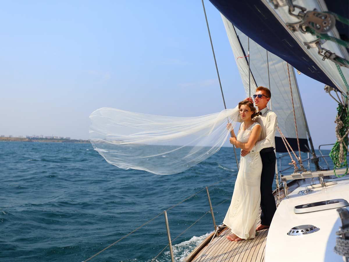 Schifffahrten zur Hochzeit