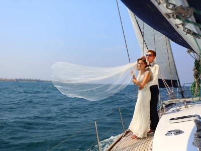 Hochzeit auf dem Wasser in Brandenburg