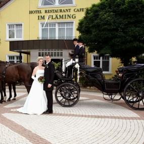 Hochzeit im Landhotel im Fläming