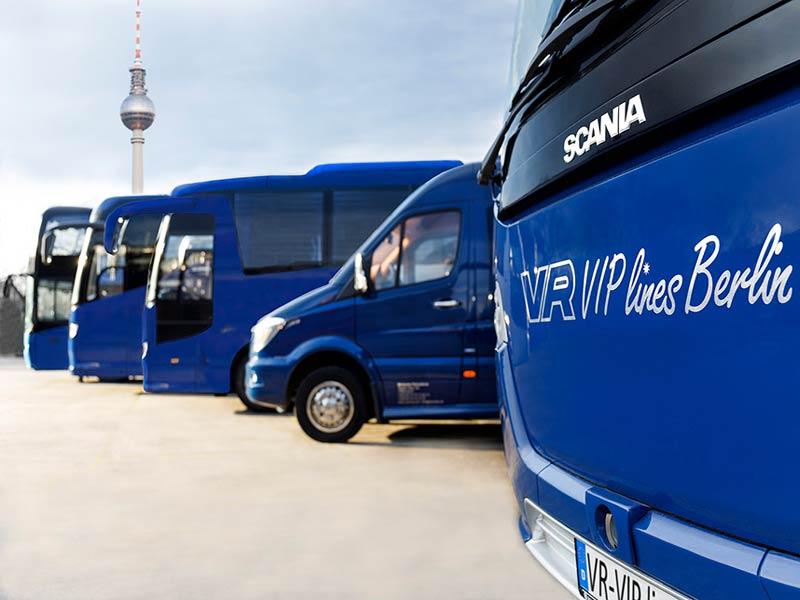 VIP-Busvermietung Hochzeit Berlin, Potsdam und Brandenburg
