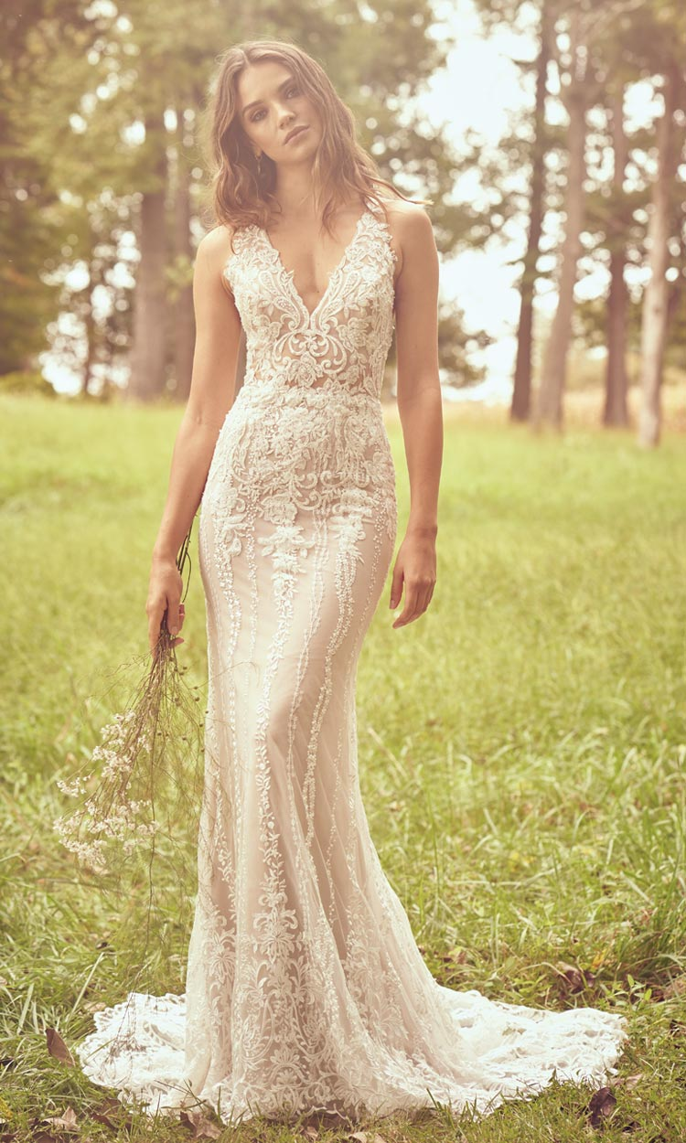 sexy Boho-Brautkleid Lillian West