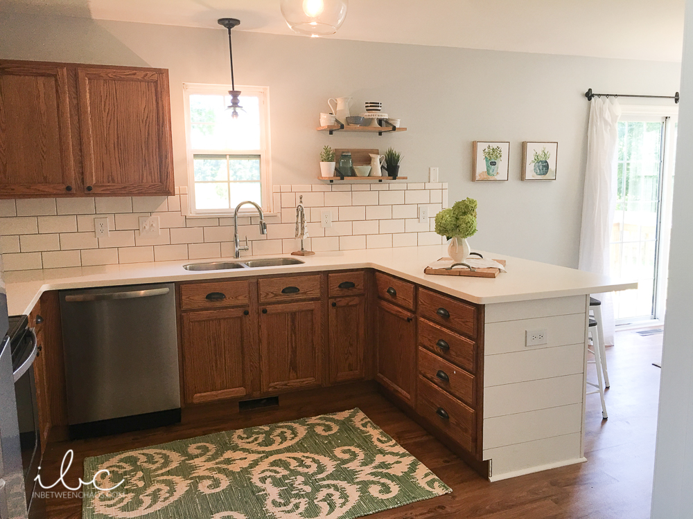 Updating A 90s Kitchen Without, How To Freshen Up Kitchen Cabinets Without Painting