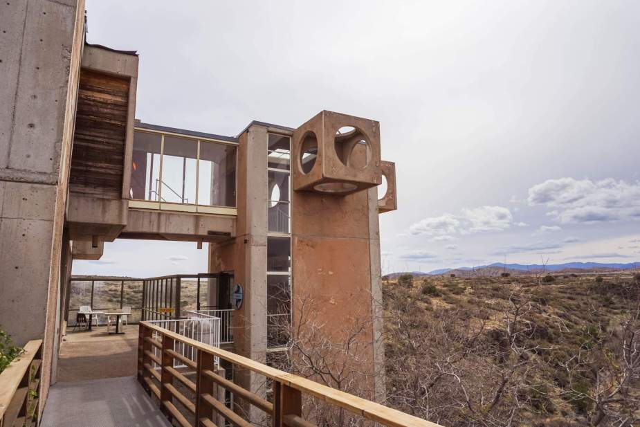 Arcosanti Architecture Arizona - IN BETWEEN LATTES 2
