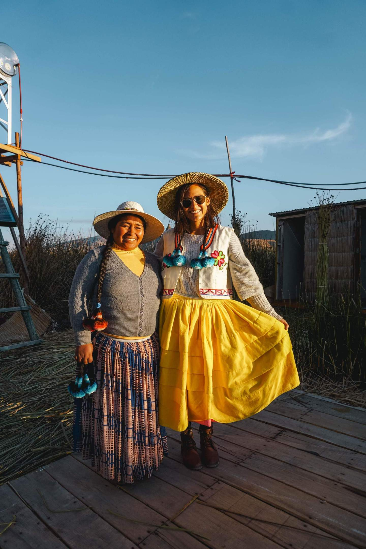 Uros-Islands Homestay-Review-Host-Family