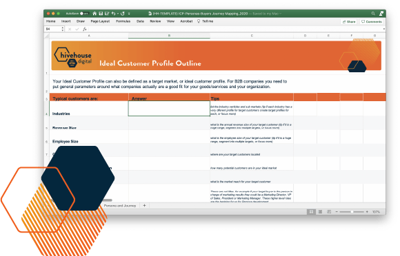Customer demographics cover aspects such as age range, customer income, educational backgrounds, and gender. Free Ideal Customer Profile Template