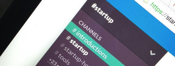 #startup, a global startup community for like-minded people running on slack.
