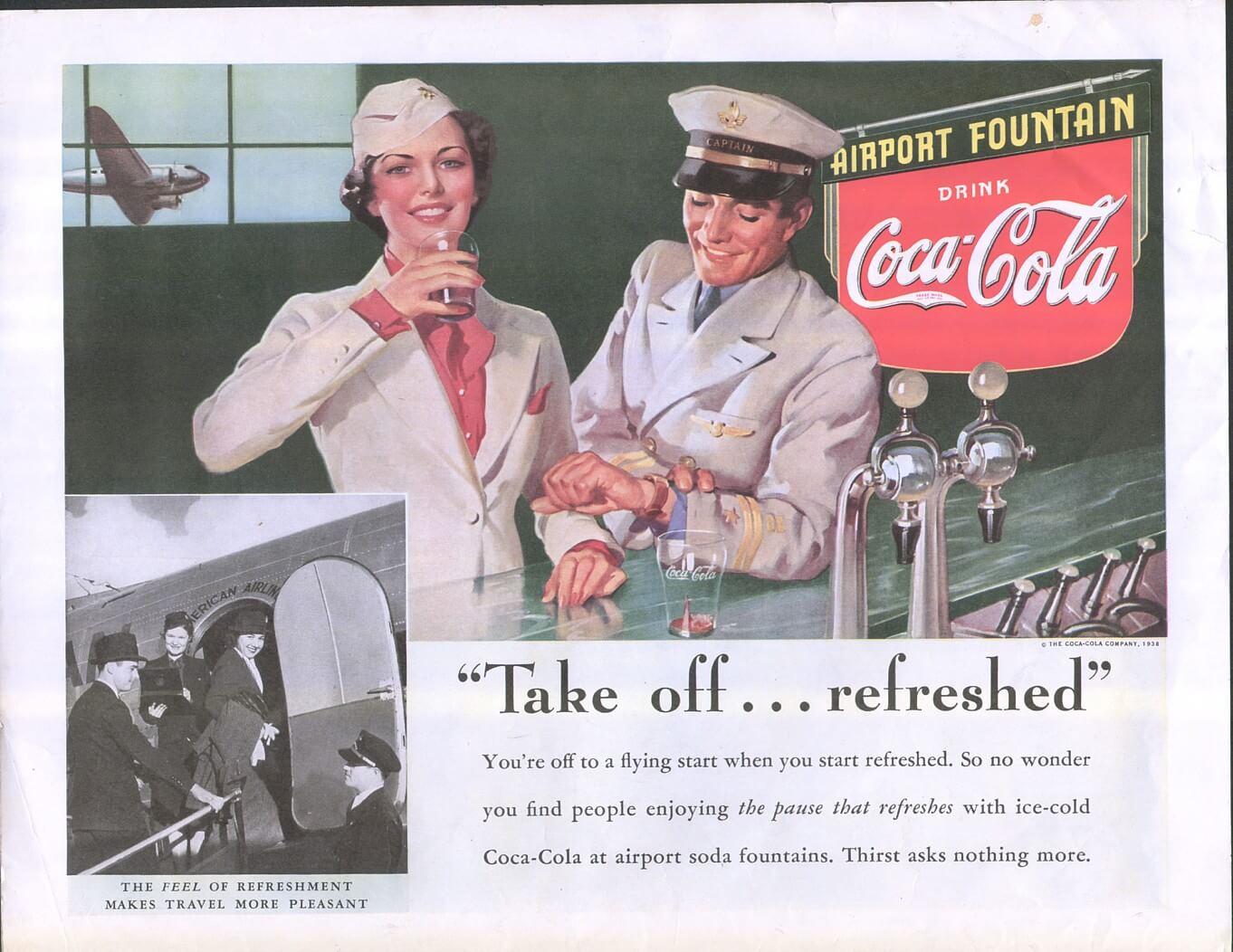 Coca Cola vintage ad