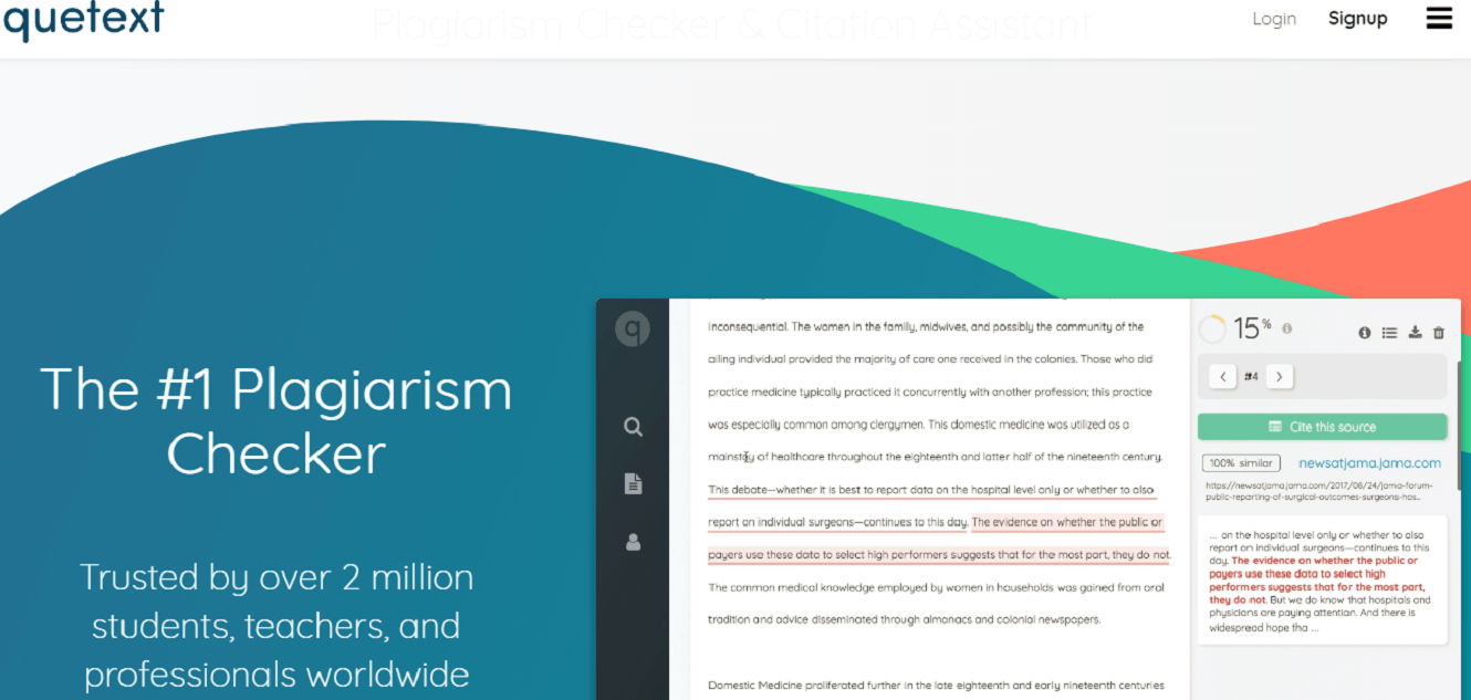 Quetext - the #1 plagiarism checker