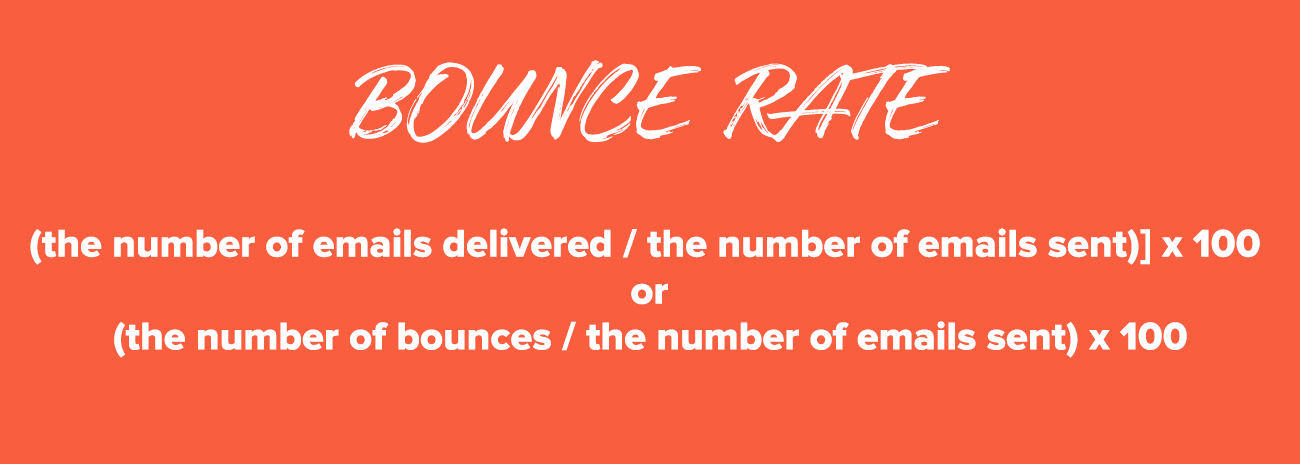 Email Marketing Metrics: Bounce Rate