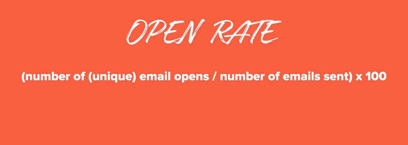Email Marketing Metrics: Open Rate