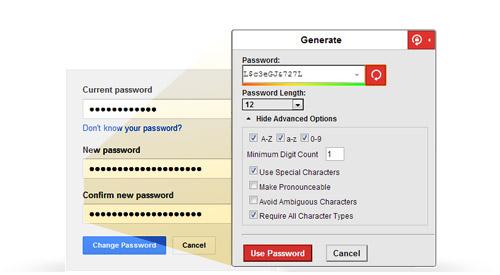 lastpass features strong password