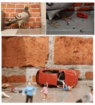 Slinkachu_Pigeon_Attack_Ground_Zero