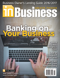 October 2016 In Business Magazine Cover