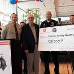 Sheriff Paul Penzone Accepts the First Grant of a $100,000 Valley Toyota/100 Club of Arizona Partnership