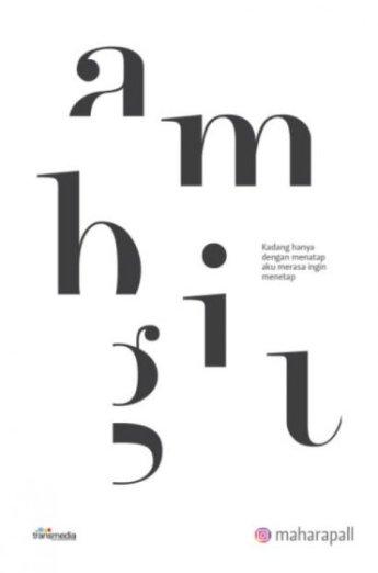 Buku AMBIGU - @maharapall   Mizanstore