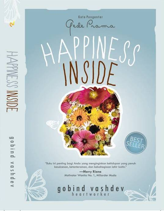 Buku Happiness Inside Gobind Vashdev Mizanstore