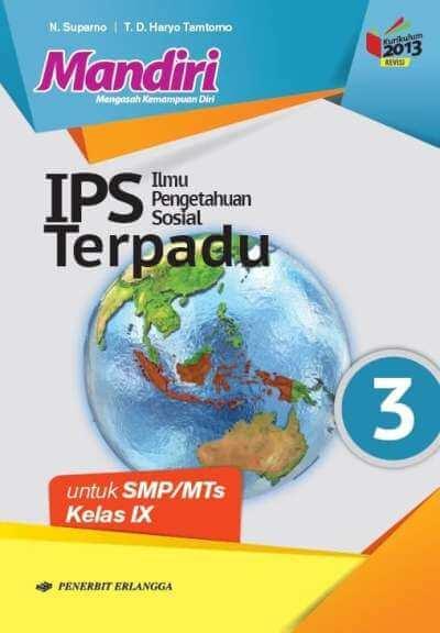 Paket Ips Kelas 9 : paket, kelas, TERPADU, SUPARNO…, Mizanstore