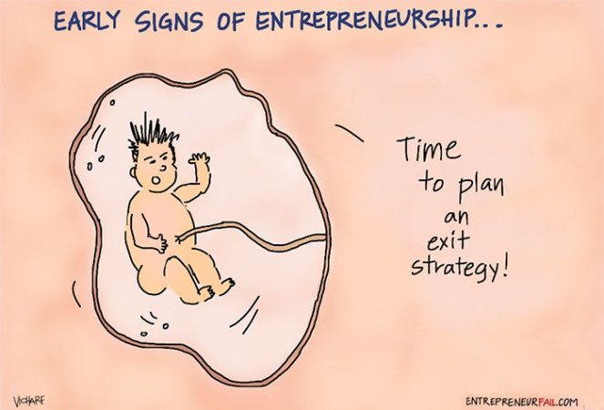 Are You Born An Entrepreneur Or Can It Be Taught Later On In Life? [Comic]