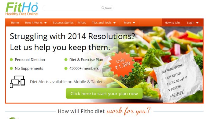 Fitho: A Startup Which  Helps You KnockOff Extra Pounds With Customised Diet Plans