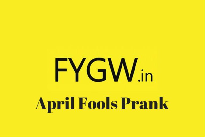 The FYGW Funding Prank and some Revelations of the Startup World