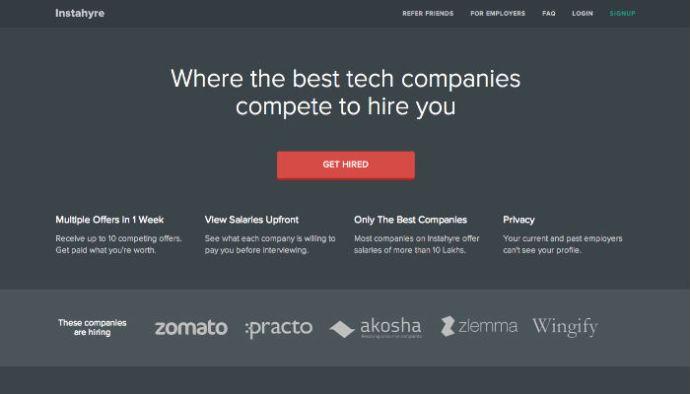 Instahyre – An Auction Platform to Hire the Best Talent